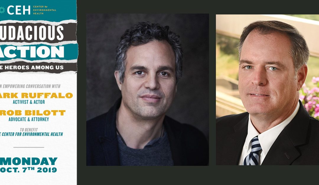 Actor Mark Ruffalo, Legendary Attorney Rob Bilott, and CEH Join Forces to Fight the PFAS Crisis