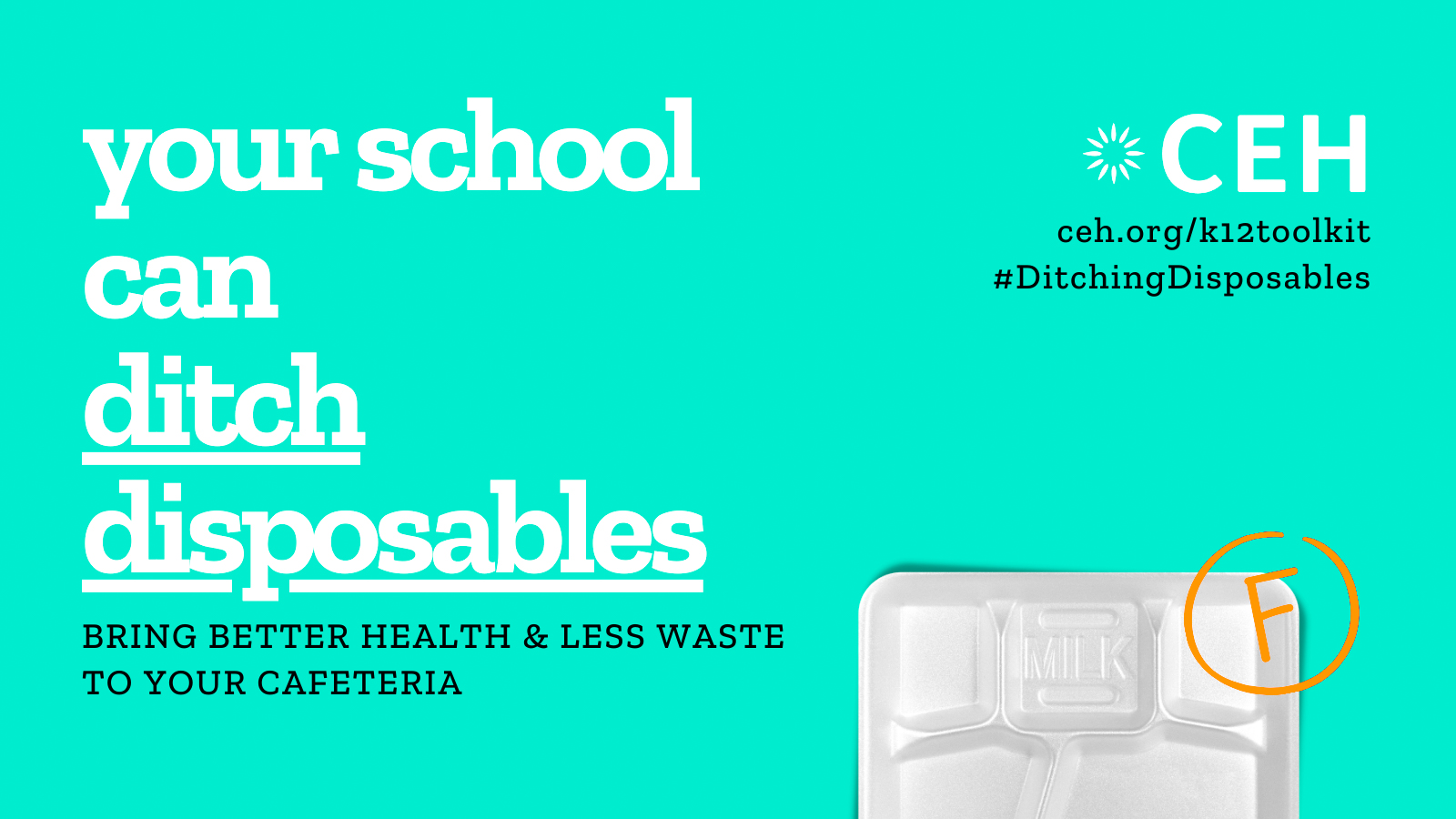 Your school can ditch disposables
